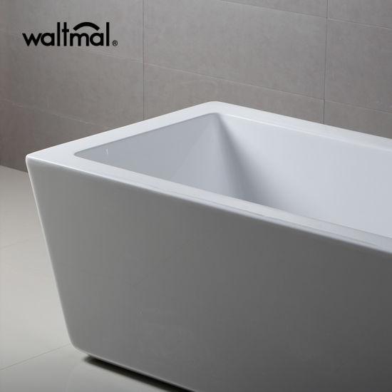Half Discount Stock Warehouse Double Ended Freestanding Bathtub