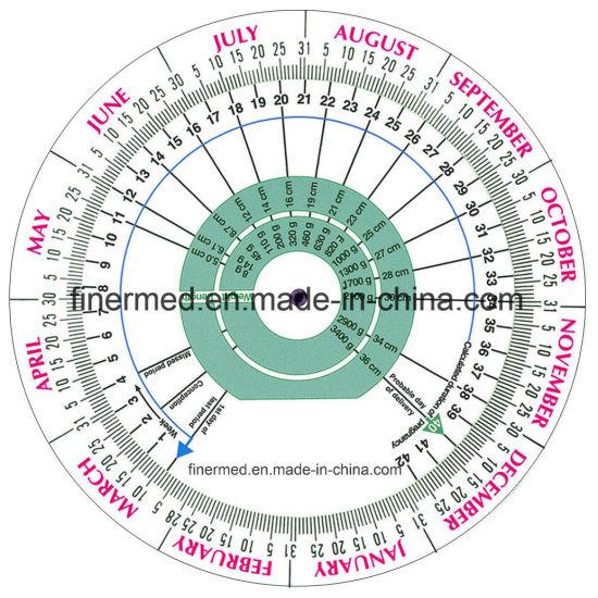 Due Date Pregnancy BMI Wheel Calculator