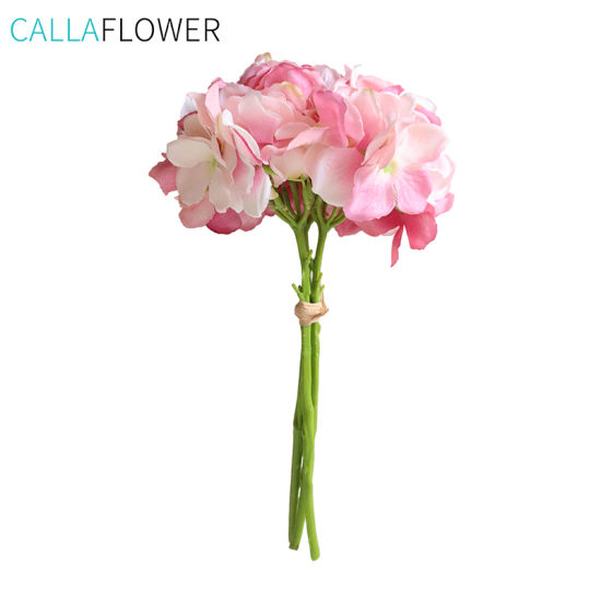 China Artificial Hydrangea Wholesale Flower Bouquet Wedding Mw52333 China Artificial Hydrangea And Artificial Flower Price
