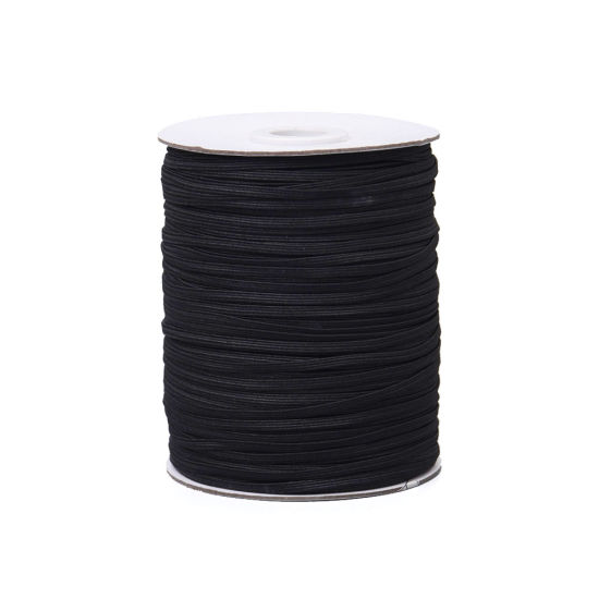 3mm 4cord Flat Elastic Braided Sewing for Face Shield pictures & photos