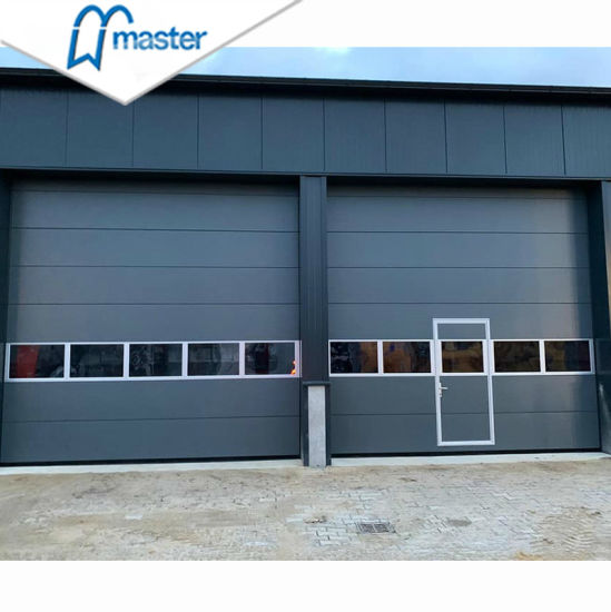 Automatic Industrial Vertical Lift Sectional Overhead Door for Logistic Warehouse/Factory