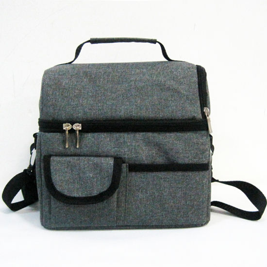 Multifunction Customized Polyester Insulated Cooler Bag Food Beer Lunch Bag with Many Compartments