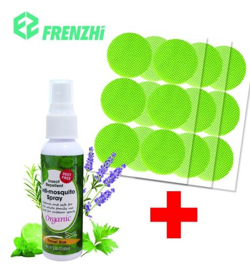 Natural and Safe Alcohol-Free Deet-Free Anti-Mosquito Spray Mosquito Repellent Spray