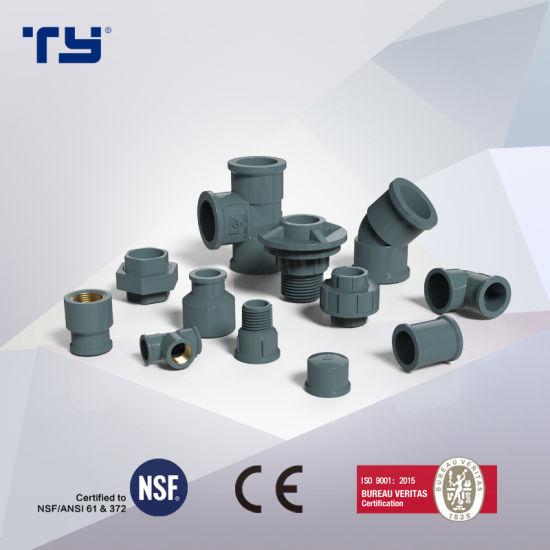 PVC-U Plastic Welded Pressure Pipe Tube Fittings NBR5648 Lesson Sum-UK Tianyan OEM (F TIGRE, SD TIGRE, TIGER)