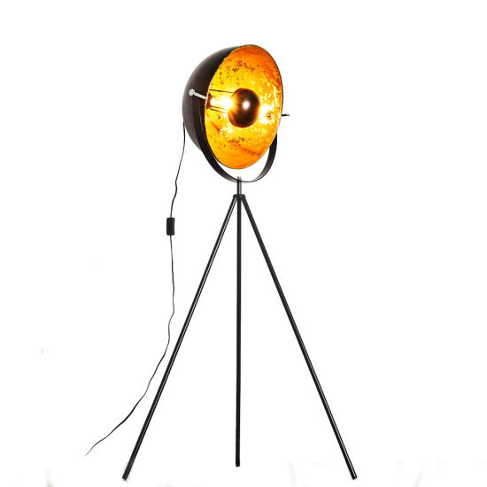 Semicircle Modern Tripod Stand Living Room Office Hotel Light LED Floor Lamp
