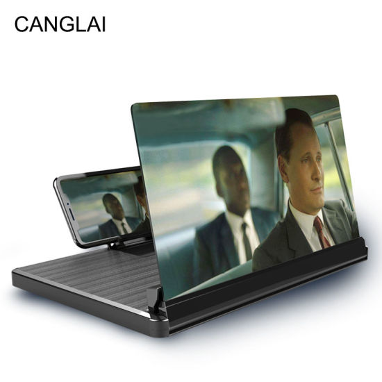 12-Inches Brushed Pull-out Phone Screen Amplifier Phone Accessories Mobile Phone Screen Enlarger