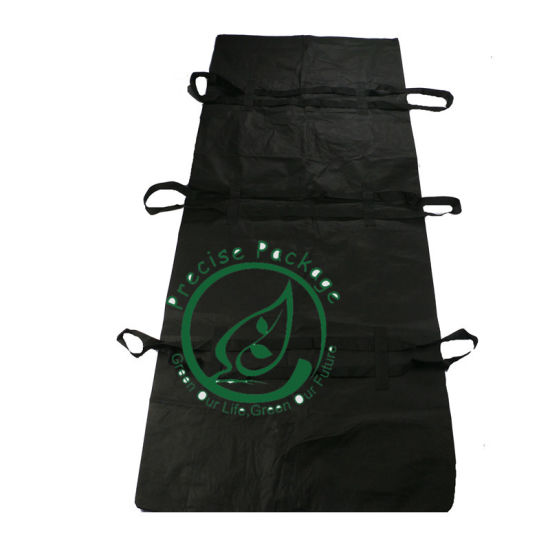 Two Leak Proof Disposable PVC PEVA American Style Morgue Body Bag