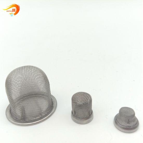 Stainless Steel Tea Filter Mesh Water Wire Mesh Filter Cap