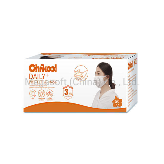 Disposable Daily Use Protective Good Quality Breathable Pink Lady Civil Facial Mask