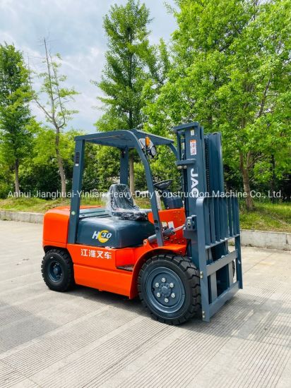 JAC Diesel Forklift Cpcd30h / Internal Combustion Forklift / Diesel Forklift