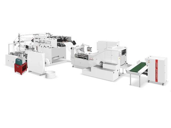 Kraft Shopping Paper Bag Machine Making Automatic