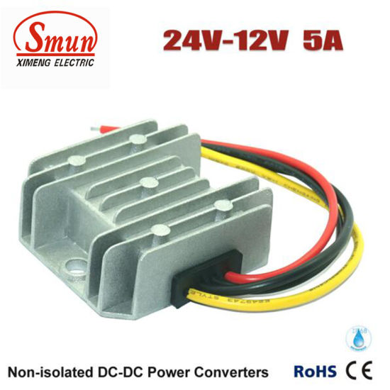 DC to DC Converter Step down 24V to 12V 5A 60W Car Power Supply