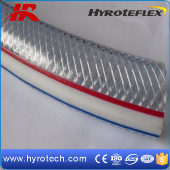 PVC Fiber Reinforced Clear Hose pictures & photos
