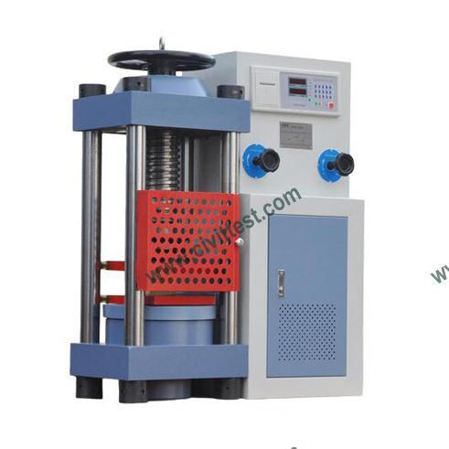 Concrete Digital Compression Tester Testing Machine