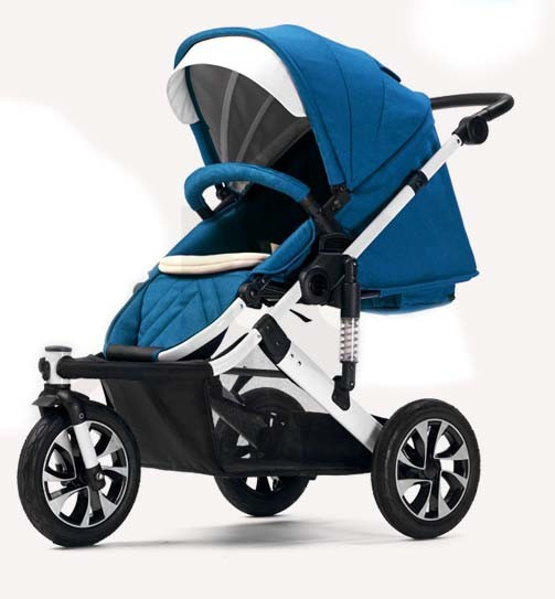 New Design Aluminum Frame Baby Pram with European Standard pictures & photos