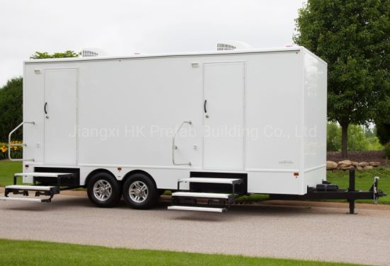 Modular Prefabricated Mobile Trailer Toilet for Restroom Rental. pictures & photos
