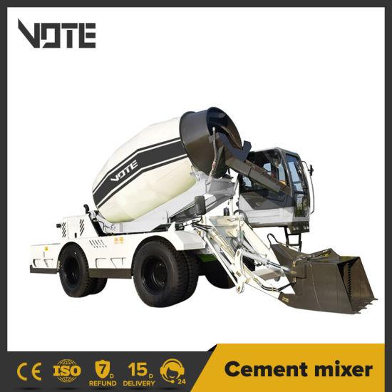 Manufacturer 1.2 to 6.5 Cbm Concrete Mixer Vehicle