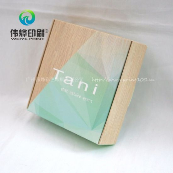 White Offset Printing Gift Packaging Box for Advertisement pictures & photos