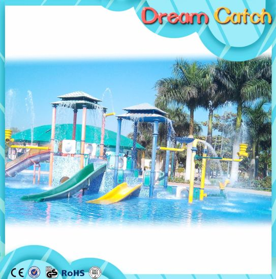 2017 New Design Fiberglass Water Slide for Hotel pictures & photos