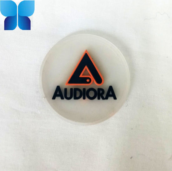 Garment and Shoes Accessories Custom Rubber Logo