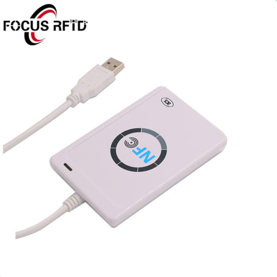 Durable USB Free Sdk 13.56MHz Access Control RFID Reader