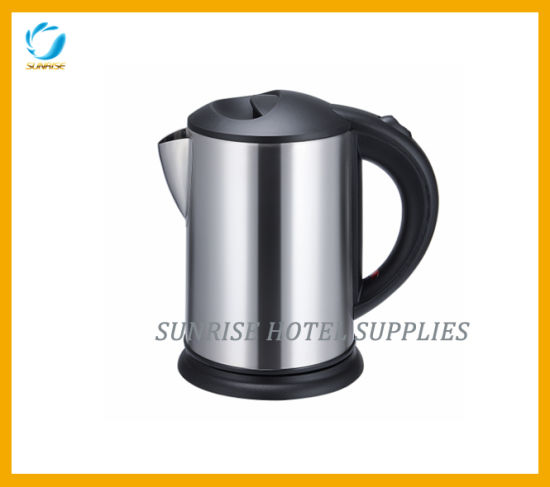 Stainless Steel Electrical Kettle Set with Tray pictures & photos