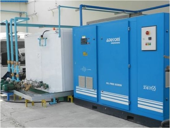 Rotary Silent Non-Lubricated Air Oil Free Screw Compressor (KE110-10ET) pictures & photos