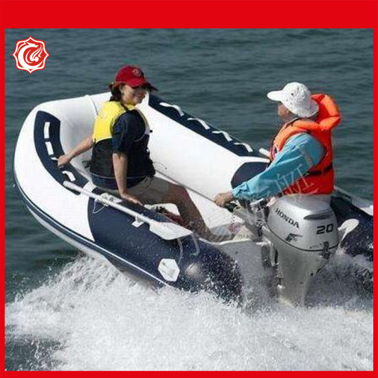 Drop Shipping 2.3-4.0m Assault Boat Anti-Collision Thickening Laminated Inflatable Boat pictures & photos