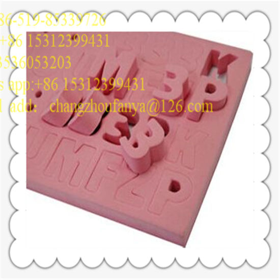 Manufacturer Customized Shape EVA Foam NBR PE Cr PVC pictures & photos