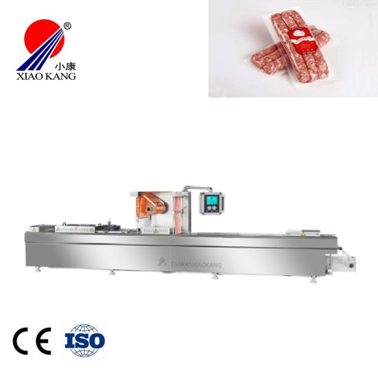 Automatic Thermoforming Packaging Machine for Fish or Fish Fillets (DLZ-420)