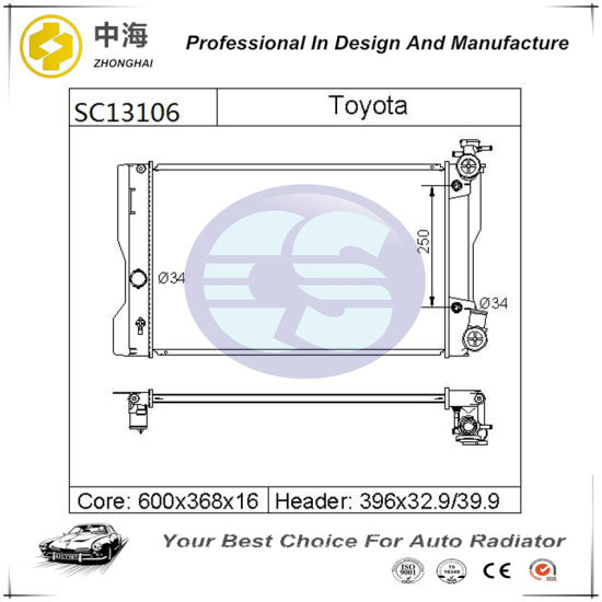 toyota 1 8l engine diagram china radiator 164100t030 for toyota corolla matrix 1 8l    09 16  toyota corolla matrix 1 8l    09 16