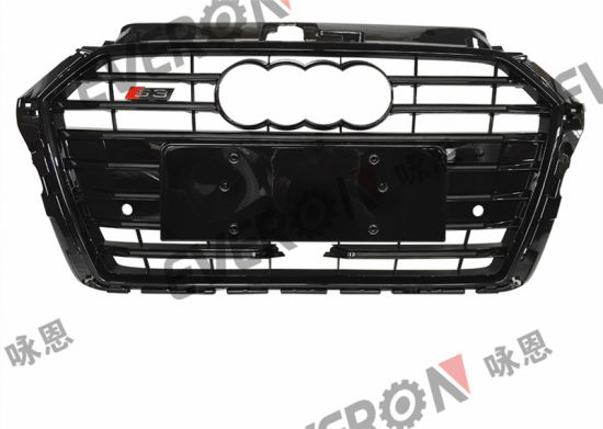 Facelifting S3 Auto Front Bumper Grille with Acc Hole for Audi A3 2017-2019