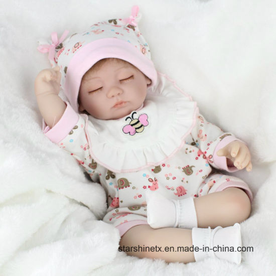 Soft Touch 16 Inch Reborn Dolls for Baby Toys