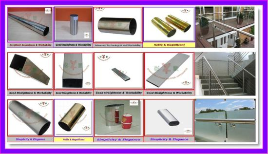 Hot Sell Half Round Handrail pictures & photos