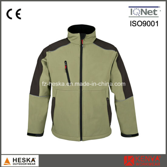 Competitive Work Price Mens Softshell Jacket pictures & photos