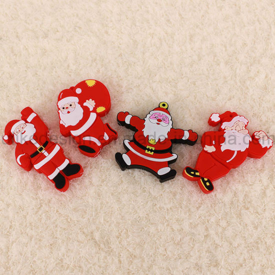 Christmas Promotion Gift USB Flash Drive (UL-PVC028) pictures & photos