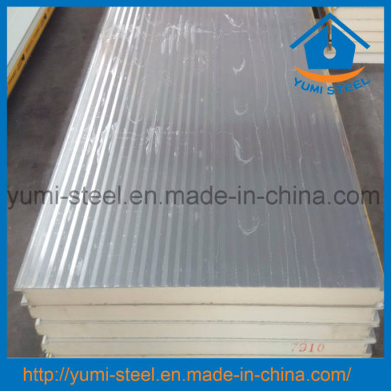 Building Materials Puf Wall/Roof Sandwich Panel for Prefabricated Houses