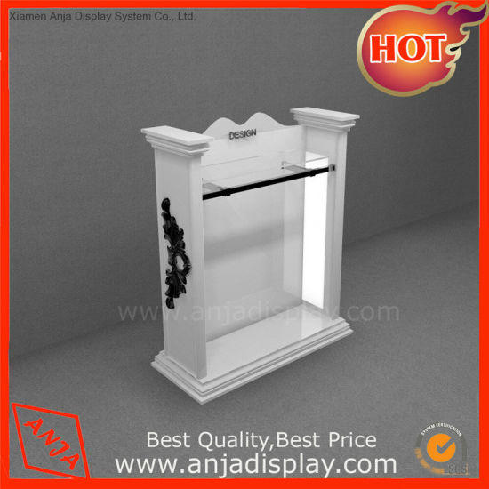 Custom Retail Plastic Platform MDF Shoes Sneaker Display Shelves for Store pictures & photos