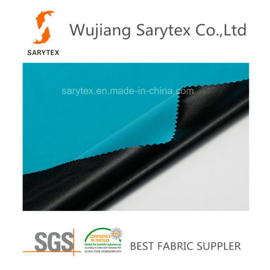 Fsahionable Coated Polyester Spandex Waterproof Fabric for Garment Jacket
