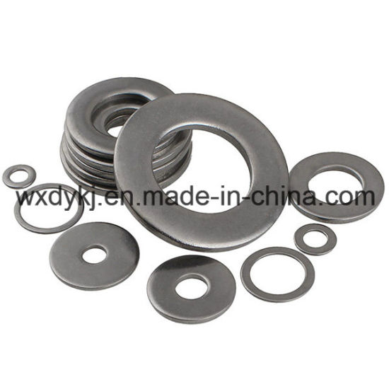 DIN 125 Stainless Steel 304 A2-70 Plain Flat Washer