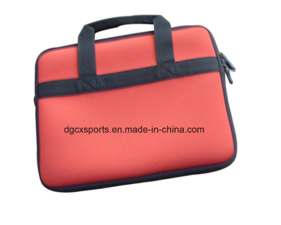 Neoprene Laptop Bag with Nylon Handle pictures & photos