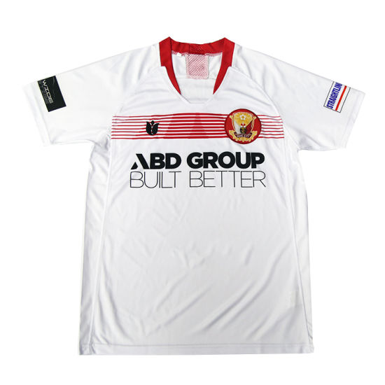 Helaong Sublimated Printing Polyester Wholesale Soccer Jerseys Kids Team  Custom Soccer Shirt pictures   photos 4b8cd66fb