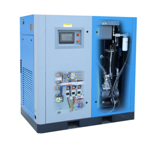 Air Cooled Oil-Lubricated Electric Rotary Screw Stationary Compressor (KD75-08) pictures & photos