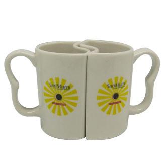 Couple Valentine Design Ceramic Mug of Qlb023