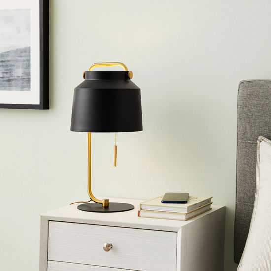 Bedside Reading Light with Pen Box for Boy and Girl Bedroom Decoration