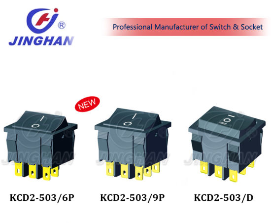 Kcd2-502 Momentary Switch Rocker Switch