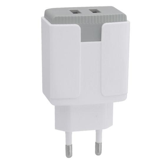 5V 2A Dual USB Ports Fast Charging QC3.0 Wall Charger