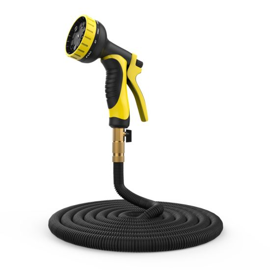 Expandable Garden Hose Set, Sell Well in Amazon. Heavy Duty. with Black Color.