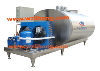 Direct Cooling Stainless Steel Sanitary Cooling Tank for Milk, Juice, etc pictures & photos