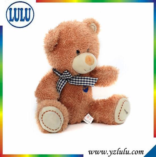 Lovely Stuffed Teddy Bear Toy for Christmas Gift